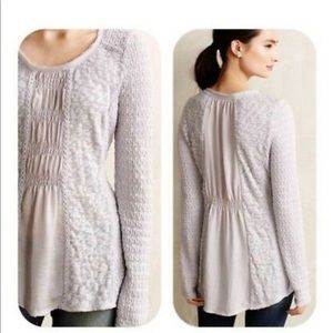 Anthropologie Meadow Rue ARIANELL tunic top Medium